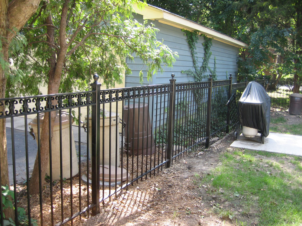 Aluminum Fence Product Examples