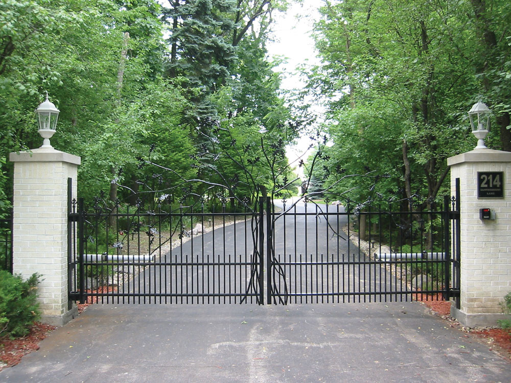 Wrought Iron Fencing Examples